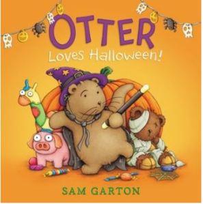 Garton Otter Loves Halloween
