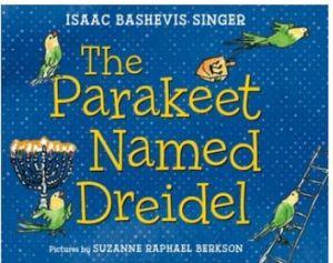 Singer Parakeet Named Dreidel